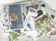 100 x 41p Cheap GB Postage Stamps (mixed designs)